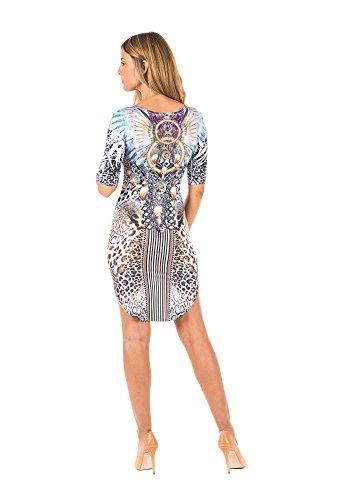 Damen 2 barbarella Dreams Kleid Estampado Mehrfarbig 7qCSnUwx1