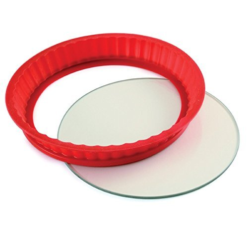 Norpro NOR-3942 Silicone/Glass Cheesecake PAN