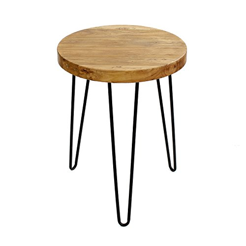 Wood Accent End Table - 3