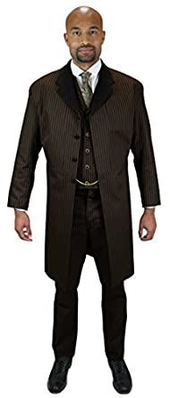 1900s Edwardian Men's Suits and Coats Frock Coat $149.95 AT vintagedancer.com
