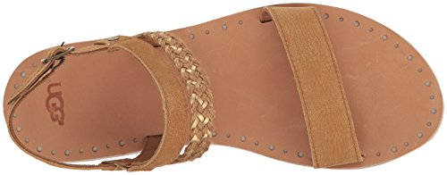 UGG Women's Elin Flat Sandal Chestnut authentic cheap online PnC7m0sg