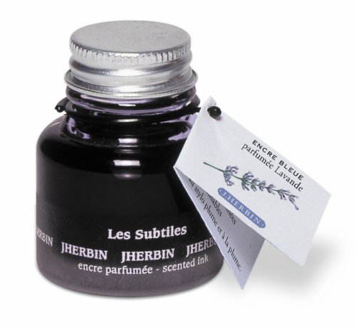 J Herbin Lavender Scented Fountain Pen Ink