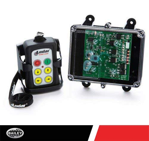 Pierce Lodar Standard Transmitter and Receiver System Remote 92104B: 4 Function IP55 FET System + Master, 15 Amps, 200 Ft. Range, 301102