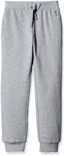 Kid Nation Kids' Solid French Terry Jogger for Boys or Girls S Gray Heather Boys Capri Pants