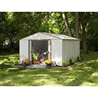 Vinyl Sheridan 10 ft. x 8 ft. Vinyl-Coated Steel Storage Shed(10 x 8 ft.3,0 x 2,3 m)