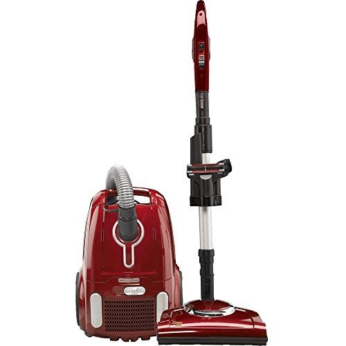 Fuller Brush Home Maid Power Team Canister Vacuum Metallic Red FB-HMP