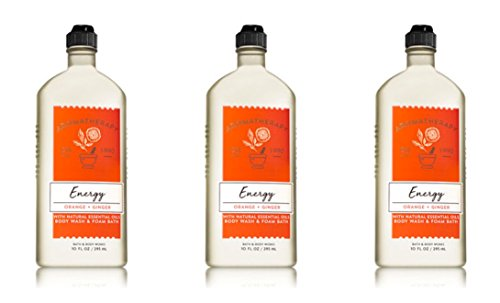 Aromatherapy Ginger Body Wash - Bath & Body Works Aromatherapy Body Wash & Foam Bath Orange Ginger (3-Pack)