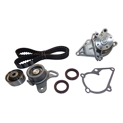 DNJ TBK122WP Timing Belt Kit with Water Pump for 1996-2011 / Hyundai, Kia/Accent, Rio, Rio5 / 1.5L, 1.6L / DOHC / L4 / 16V / 1495cc, 1599cc, 1600cc / VIN C, VIN N ()
