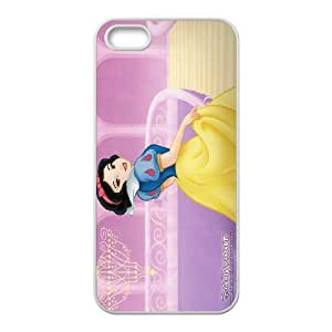 Disney fairy tale snow white and the seven dwarfs,snow white holding apple series durable cases For Apple Iphone 5 5S CasesQBQI231715002