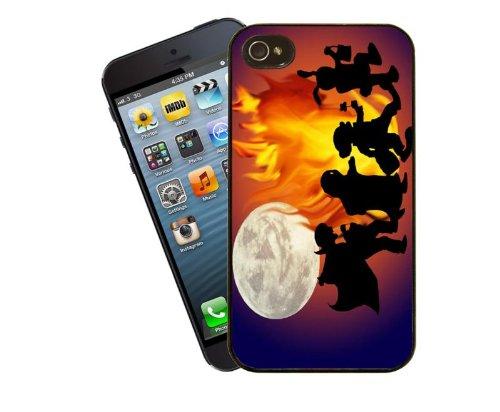 Halloween Fall Design 3 - Telefon für Apple iPhone 4 / 4 s - Cover von Eclipse-Geschenkideen