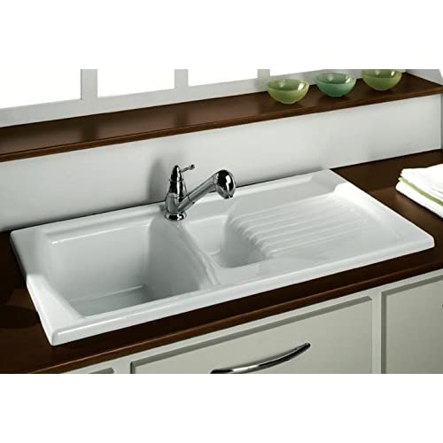 White Kitchen Sinks: Amazon.co.uk