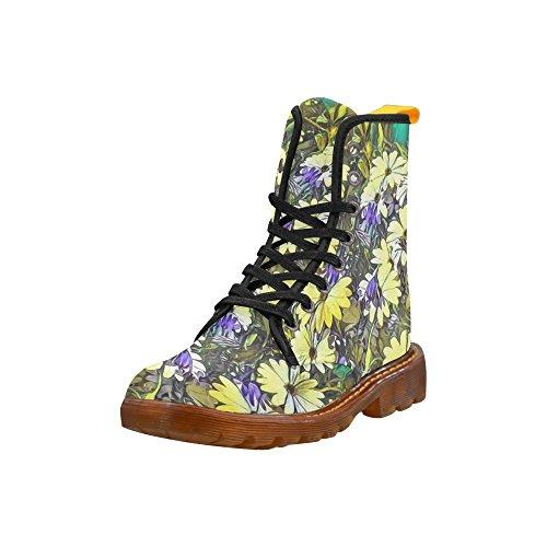 Leinterest Floral Artstudio Martin Stövlar Mode Skor För Kvinnor