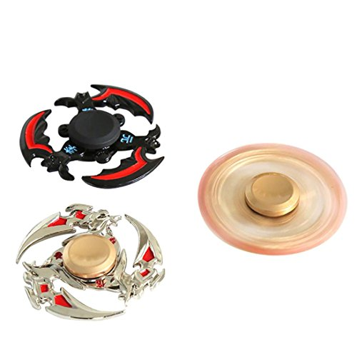 Hand Spinner,DEESEE(TM) Fidget Hand Spinner Finger Focus Spin EDC Bearing Stress Pocket Toys Cool Gifts ADHD (Silver)
