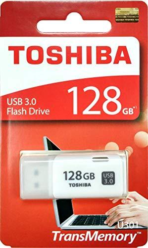 (Toshiba USB3.0 Flash Drive 128GB USB 3.0 Flash Disk TransMemory U301 Hayabusa 3.0 USB 128G Memory Stick (THN-U301W1280A4))