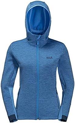 Jack Wolfskin Morning Sky Womens Jacket Fleece Zircon Blue All Sizes