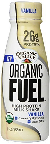 Organic Valley Org Valley Org Fuel High Protein Shake Vanilla 11 Oz - Pack of 24