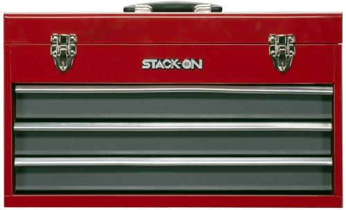 Stack-On RG-920 20-Inch 3-Drawer Portable All Steel Tool Chest by Stack-On