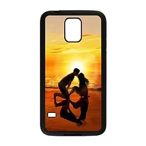 Samsung Galaxy S5 Cell Phone Case Black sunset WQ7490336
