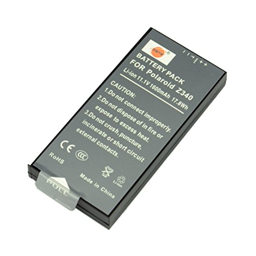 DSTE Z340 Rechargeable Li-ion Battery for Polaroid Z340 Camera & POGO GL10 Printer (Camera Polaroid Pogo)