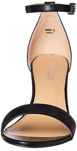 Sandal Smooth Report Light Women's Black Heeled Pamela Pink q1v7wf