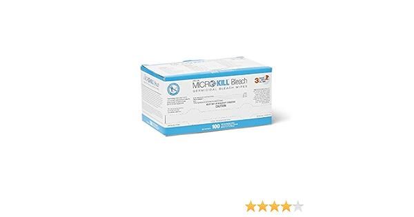150//Canister 7 x 8 Medline MSC351400AN Micro-Kill Bleach Germicidal Bleach Wipes