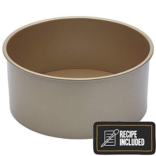 Hollywood Tin - Paul Hollywood By Kitchencraft Non-stick Deep Round Cake Tin With Loose Base,
