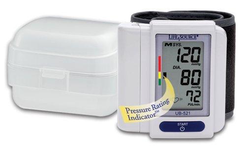 LifeSource UB-521 Digital Wrist Blood Pressure Monitor