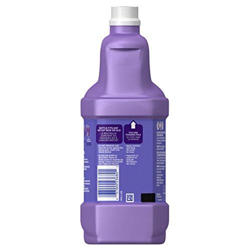 Swiffer Wet Jet Floor Cleaner Solution Refill, Lavender Vanilla & Comfort, 42.2 Fluid Ounce (Pack of 4)