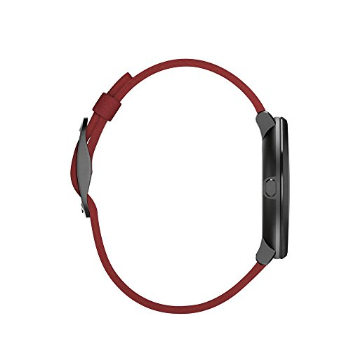 Pebble Time Round 14mm Smartwatch for Apple/Android Devices - Black/Red by Pebble Technology Corp (Image #4)