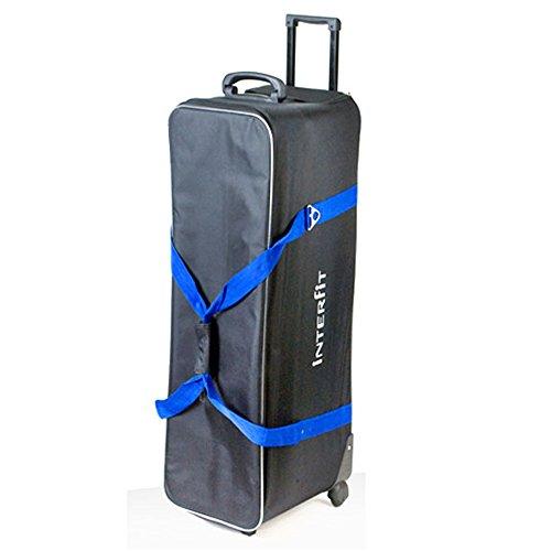 Interfit INT435 Large 3 Head Roller Bag-Black by Interfit