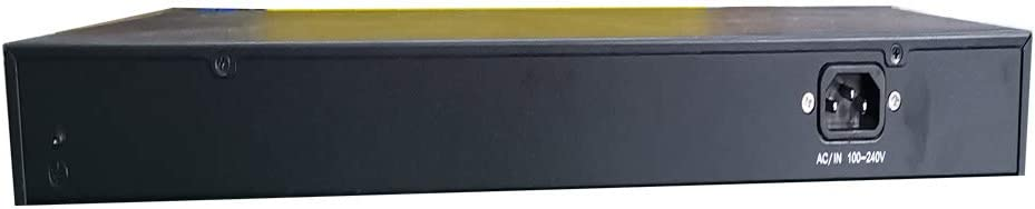 Nightking Business Grade 320W 24-Port Gigabit PoE Switch//2X Gigabit SFP,IEEE802.3af,Rack Mount