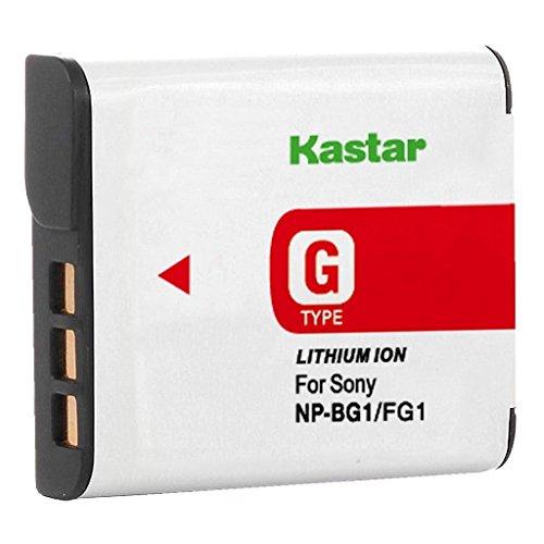 Kastar Lithium Ion Camera Battery for Sony G Type NPBG1 NP-BG1 Sony Cyber-shot DSC-H3 DSC-H7 DSC-H9 DSC-H10 DSC-H20 DSC-H50 DSC-H55 DSC-H70 DSC-H90 DSC-HX5 DSC-HX5V DSC-HX7 DSC-HX7V DSC-HX9 and more