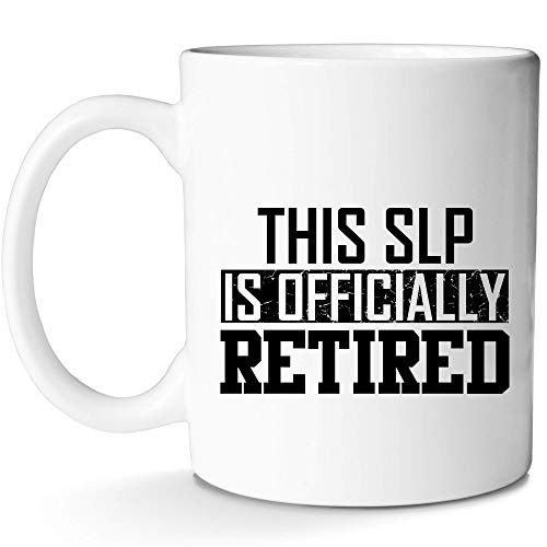 SLP Retirement Mug for Retired Speech Language Pathologist|Gift Idea Coffee Cup With Prime by Mugish 11oz