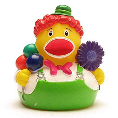 Rubber Duck Clown | Bath Duck | Duckshop | L: 8 cm : Baby