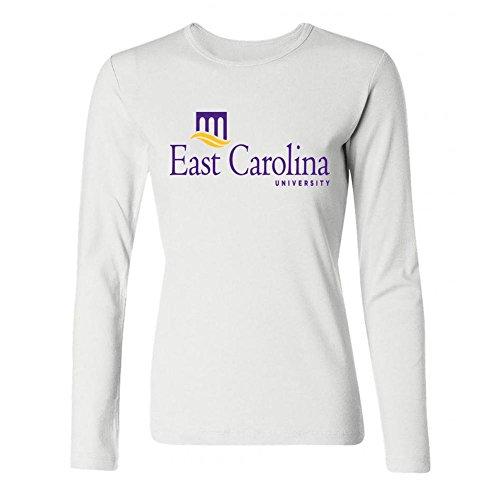 IIOPLO Women's Ellie Goulding Long Sleeve T-shirt White S