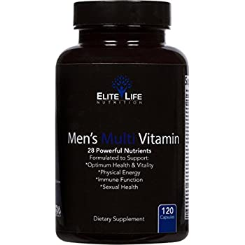 Mens Multi Vitamin - 28 Powerful Nutrients, Vitamins, and Minerals - Best Multivitamin for Men - Supports Optimum Health, Physical Energy, Immune System ...