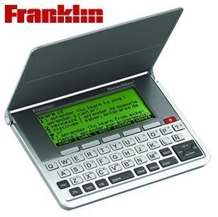 Franklin Spanish - English / Merriam - Webster Dictionary wi
