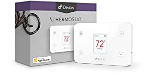 iDevices Thermostat - Wi-Fi Enabled Thermostat Works with Apple HomeKit and Amazon Alexa