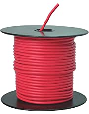 Southwire 55669123 Primary Wire, 14-Gauge Bulk Spool, 100-Feet, Red