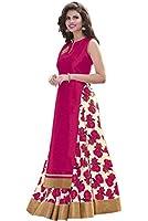 Aika Fashion Benglori Silk Printed Bhagalpuri Lehenga Choli For Women