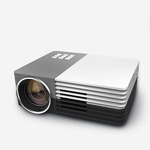 Qucking Light Proyector Portátil, Proyector Casero Nuevo Proyector ...