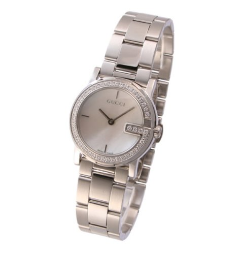 369b16c7525 Gucci Women s 101 YA101510 Stainless-Steel Swiss Quartz Watch with Mother -Of-Pearl Dial  Gucci  Amazon.ca  Watches