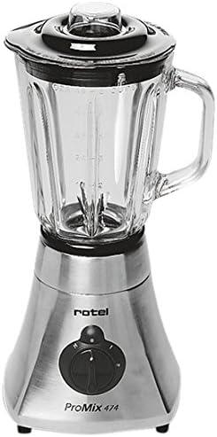 Rotel ProMix 474 Batidora de vaso 1.5L 500W Negro, Cromo ...
