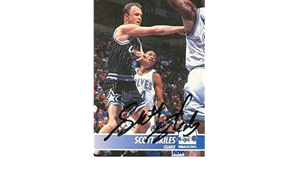 Scott Skiles autographed Basketball Card (Orlando Magic) 1994 Hoops #155 at Amazons Sports Collectibles Store