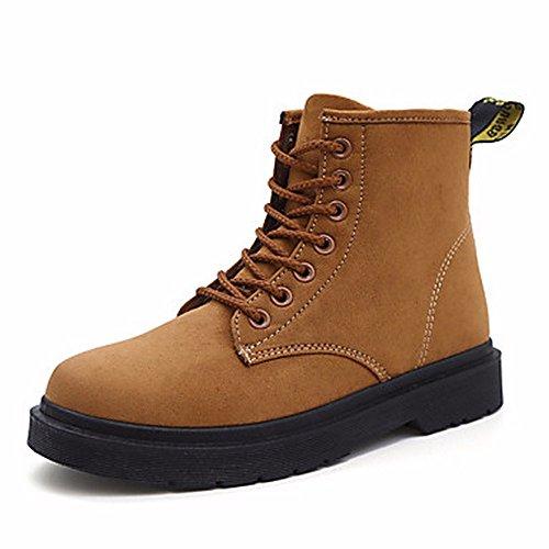 Eu36 Chameau De Air Plat Plein Printemps Bottes Décontracté Rond Talon Cn35 Uk3 Chaussures 5 Chaussures Boots Pour Joint ZHUDJ En 5 Femmes Pour Séparation Us5 Bout qwHnBO
