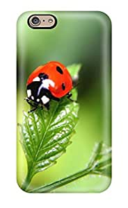 Durable Defender Case For Iphone 6 Cover(ladybugs Animal)