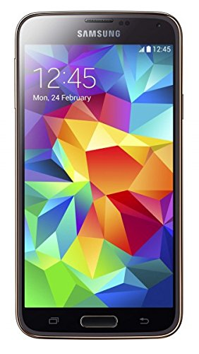 Samsung Galaxy S5 SM-G900A 16GB 4G LTE GSM AT&T Unlocked Android Smartphone, (Gold)