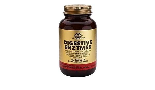 Enzimas Digestivas 100 comprimidos de Solgar