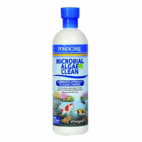 (PONDCARE MICROBIAL ALGAE CLEAN Green Water Biological Inhibitor 16-Ounce Bottle )