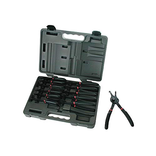- GEARWRENCH 3495 12-Piece Fixed Tip Combination Snap Ring Pliers Set